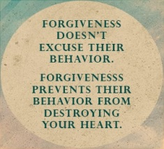forgiveness, behavior, heart, forgive, let go, let God, move on, grow, bitterness, anger, pain