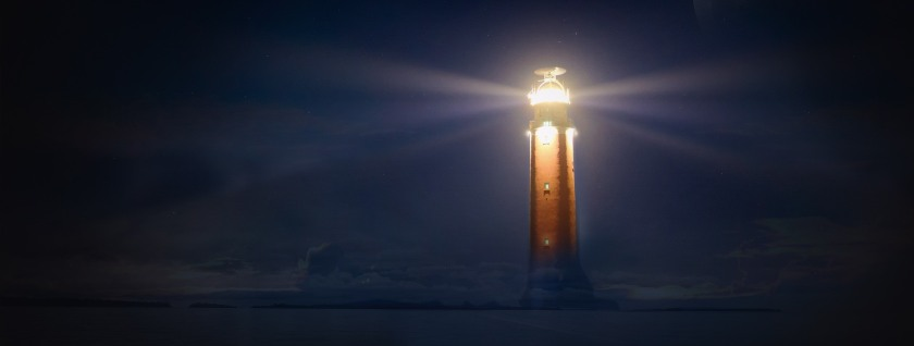 practicing presence, light, God, Presence, present, light house, beacon, Spirit, baptism, baptized, baptizer, Holy Spirit