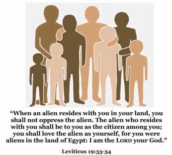 alien, resides, foreigner, sojourner, love thy neighbour, love your neighbour, citizen, resident, legal resident, Christian, pray