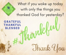 Beth Gray, coach, thankful, grateful, blessed, awake, thank you