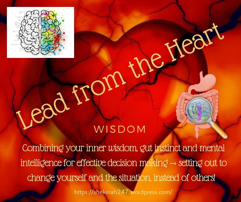 heart, wisdom, gut, mental, intelligence, effective, decision making, change, situation