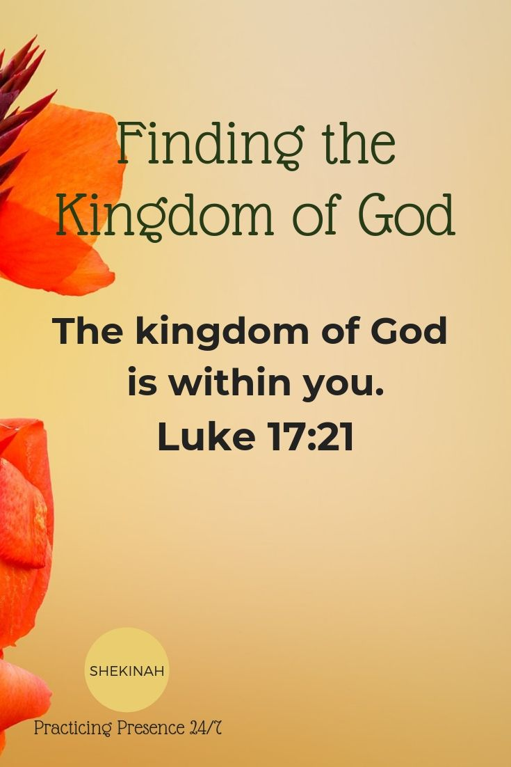 finding the kingdom of God, the kingdom of God is within you, gospel of Luke, discovering your purpose, finding meaning, vanity of vanities, everything is meaningless