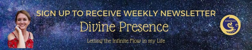 sign up, weekly newsletter, Divine Presence
