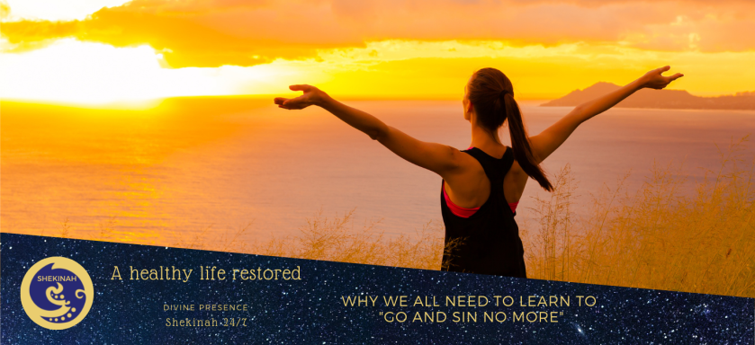 a healthy life restored, go and sin no more, miraculous healing, a healing journey, Coeliac disease, Celiac disease, ulcerative colitis, diverticulitis, SIBO, IBC, gut issues, self-preservation, safety & security, immune response, immune system, movement, motivation, dissociation, sedation, hibernation, spiritual healing, emotional healing, psychological healing, mental, physical health, lifestyle choices, stress, meditation, prayer, trusting, silence, anxiety, depression, diet, exercise, forgiveness, letting go, release, health challenges, lifestyle changes, gluttony and over-eating, over eating, know to do right, to him it is sin, murmuring and complaining, negativity, health effects, cortisol, laziness, couch potato, chronic fatigue, lack of forgiveness, anger, resentment, hatred, and the truth will set you free, faith and works